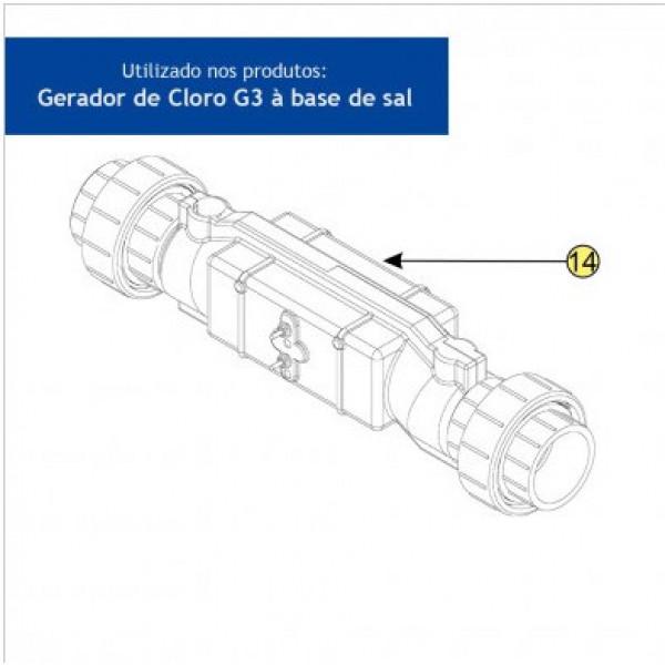 Célula para gerador de cloro 25 AL - Nautilus)_1