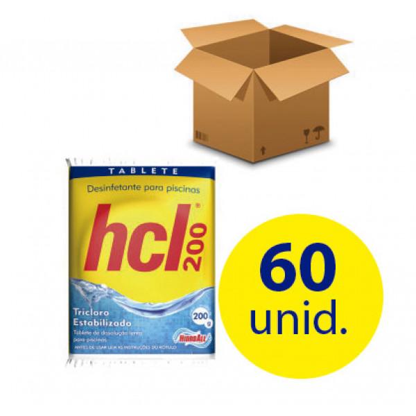 60 unidades Cloro Tablete 200 gr - Hidroall