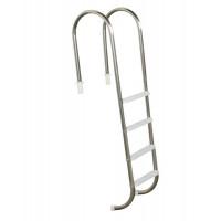 """Escada para piscinas Marinheiro 1 1/2"""" - 4 Degraus em ABS (plástico) - Sodramar"""