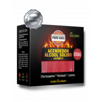 Acendedor Álcool Solido Ecológico Prime gril