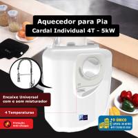 Aquecedor para pia Cardal Individual 4 Temperaturas -5kW / 110V