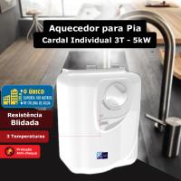Aquecedor para pia Cardal Individual 3 Temperaturas blindado - 5kW / 220V