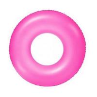 Boia Circular Neon Rosa 91 cm Intex