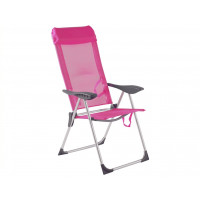 Cadeira Praia 5 posições Rosa Bel Fix