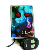 Caixa de comando para Refletor de led - Collors - 030w com controle remoto