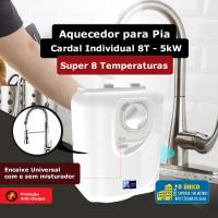 Aquecedor para pia Cardal Individual 8 Temperaturas 5kW / 110V