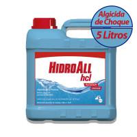 Algicida Choque HCL 5 Litros Hidroall