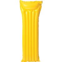 Colchão Bronzeador inflável amarelo 183 x 69 cm Intex
