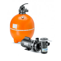 Kit Filtro e bomba para piscinas - Nautilus - F650p e NBF4 - 1CV