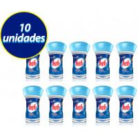 kit 10 Flutuadores Cloro Tablete Ação Contínua 830g - HTH