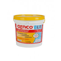 Cloro Granulado L.E. - 3 em 1 - 2,5 Kg - Genco