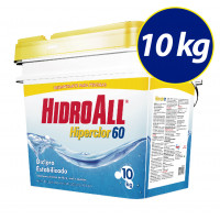Cloro granulado Hiperclor 60 -10kg Hidroall