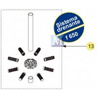 Sistema Drenante Completo para filtro F650 Nautilus