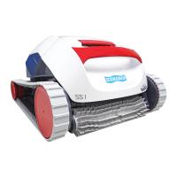 Robô SS1 Sodramar para limpeza de piscinas de até 10m