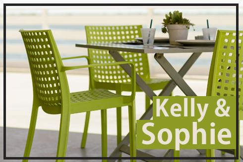 cadeiras de plastico kelly e sophie